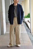 <img class='new_mark_img1' src='https://img.shop-pro.jp/img/new/icons8.gif' style='border:none;display:inline;margin:0px;padding:0px;width:auto;' />FRANK LEDER  Indigo Dyed +Washed Cotton Shirt Jacket