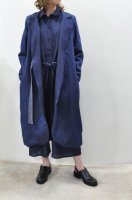 【SOLD OUT】CABINET   Denim x Linen Reversible Coat