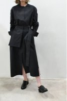 <img class='new_mark_img1' src='https://img.shop-pro.jp/img/new/icons8.gif' style='border:none;display:inline;margin:0px;padding:0px;width:auto;' />STUDIO NICHOLSON  Belted Shirt Dress (Black)