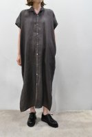 【SOLD OUT】STEPHAN SCHNEIDER  Linen Shirt Dress (Brown)