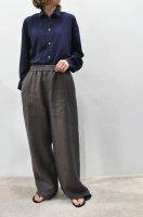 【SOLD OUT】STEPHAN SCHNEIDER  Long Sleeve Shirt (Navy)