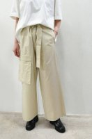 <img class='new_mark_img1' src='https://img.shop-pro.jp/img/new/icons20.gif' style='border:none;display:inline;margin:0px;padding:0px;width:auto;' />STUDIO NICHOLSON  Cotton Cargo Pants (Sand)