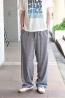 【SOLD OUT】m's braque  Loose Fit Easy Pants (Glenplad)