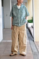<img class='new_mark_img1' src='https://img.shop-pro.jp/img/new/icons8.gif' style='border:none;display:inline;margin:0px;padding:0px;width:auto;' />NICENESS Cotton Silk Balloon Shirt (Mint)