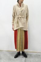 <img class='new_mark_img1' src='https://img.shop-pro.jp/img/new/icons8.gif' style='border:none;display:inline;margin:0px;padding:0px;width:auto;' />HIROMI TSUYOSHI  Cardigan Jacket (Beige x Ivory)