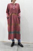 【SOLD OUT】HIROMI TSUYOSHI  Cashmere Hemp Wool Knit Dress