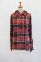 <img class='new_mark_img1' src='https://img.shop-pro.jp/img/new/icons8.gif' style='border:none;display:inline;margin:0px;padding:0px;width:auto;' />Colenimo  Detachable Collar Shirt (Red Check)