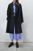 <img class='new_mark_img1' src='https://img.shop-pro.jp/img/new/icons8.gif' style='border:none;display:inline;margin:0px;padding:0px;width:auto;' />Colenimo  Merton Wool Wrap Coat (Black)