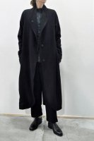 <img class='new_mark_img1' src='https://img.shop-pro.jp/img/new/icons8.gif' style='border:none;display:inline;margin:0px;padding:0px;width:auto;' />KristenseN DU NORD  Cashmere Long Coat (Black)