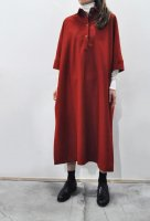 <img class='new_mark_img1' src='https://img.shop-pro.jp/img/new/icons8.gif' style='border:none;display:inline;margin:0px;padding:0px;width:auto;' />FRANK LEDER  Loden Wool Shirt Dress (Red)