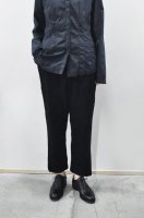 【SOLD OUT】KristenseN DU NORD  Brushed Wool Pants (Black)