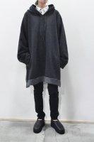 【SOLD OUT】KristenseN DU NORD  Wool Cotton Hoodie (Dark Grey Melange)