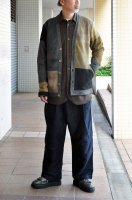 <img class='new_mark_img1' src='https://img.shop-pro.jp/img/new/icons20.gif' style='border:none;display:inline;margin:0px;padding:0px;width:auto;' />FRANK LEDER   Hand Patch Work deer leather jacket