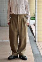 <img class='new_mark_img1' src='https://img.shop-pro.jp/img/new/icons8.gif' style='border:none;display:inline;margin:0px;padding:0px;width:auto;' />FRANK LEDER  Dog Wool Trouser with Leica Straps (Beige)