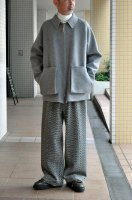 【SOLD OUT】NICENESS Wool Cashmere Reversible Jacket (L.Grey)