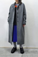 【SOLD OUT】TENNE HANDCRAFTED MODERN  Gusset Sleeve Coat (Grey)