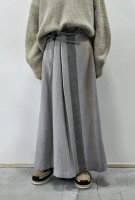 <img class='new_mark_img1' src='https://img.shop-pro.jp/img/new/icons8.gif' style='border:none;display:inline;margin:0px;padding:0px;width:auto;' />NICENESS  Merino Wool Cashmere Blanket Skirt (D.Purpie)