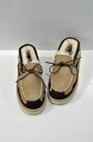 <img class='new_mark_img1' src='https://img.shop-pro.jp/img/new/icons20.gif' style='border:none;display:inline;margin:0px;padding:0px;width:auto;' />SUICOKE   Mouton Moccasins /Beige