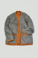 <img class='new_mark_img1' src='https://img.shop-pro.jp/img/new/icons8.gif' style='border:none;display:inline;margin:0px;padding:0px;width:auto;' />m's Braque  Reversible Jacket (Grey Fur/Orange)