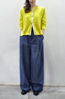 <img class='new_mark_img1' src='https://img.shop-pro.jp/img/new/icons8.gif' style='border:none;display:inline;margin:0px;padding:0px;width:auto;' />HIROMI TSUYOSHI  Snaptape Cardigan (Yellow)