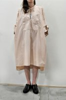 <img class='new_mark_img1' src='https://img.shop-pro.jp/img/new/icons8.gif' style='border:none;display:inline;margin:0px;padding:0px;width:auto;' />bassike  Cotton Relaxed Shirt Dress(Blush)