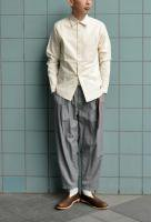 <img class='new_mark_img1' src='https://img.shop-pro.jp/img/new/icons20.gif' style='border:none;display:inline;margin:0px;padding:0px;width:auto;' />FRANK LEDER   VINTAGE BED LINEN SHIRT