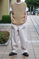 <img class='new_mark_img1' src='https://img.shop-pro.jp/img/new/icons8.gif' style='border:none;display:inline;margin:0px;padding:0px;width:auto;' />NICENESS  Cotton Silk Knit Vest (N.Brown)