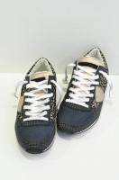 <img class='new_mark_img1' src='//img.shop-pro.jp/img/new/icons20.gif' style='border:none;display:inline;margin:0px;padding:0px;width:auto;' />【50%off】 PHILIPPE MODEL  Black Leopard Leather Sneaker