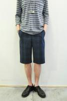 <img class='new_mark_img1' src='https://img.shop-pro.jp/img/new/icons20.gif' style='border:none;display:inline;margin:0px;padding:0px;width:auto;' />FRANK LEDER  Chequered Cotton Short Pants