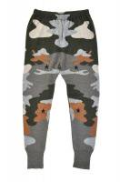 【SOLD OUT】QUEENE and BELLE Cammo Track Pants (Flannel Multi)