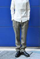 <img class='new_mark_img1' src='http://arablesoil.shop-pro.jp/img/new/icons20.gif' style='border:none;display:inline;margin:0px;padding:0px;width:auto;' />FRANK LEDER   Linen Wool Cargo Pants
