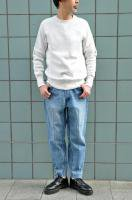 <img class='new_mark_img1' src='//img.shop-pro.jp/img/new/icons8.gif' style='border:none;display:inline;margin:0px;padding:0px;width:auto;' />FilMelange  WINCENT/ Urage Sweat shirt (ozone white)