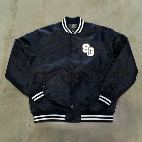 STREETGAMEナイロンジャケット/SG(ネイビー/ホワイト)