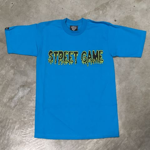 STREET GAME T-Shirts/ICE(Heavy Weight)(ターコイズ/イエロー)