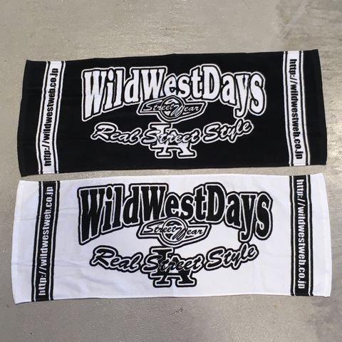 WILDWESTDAYS タオル(カラー:ブラック/ホワイト・ホワイト/ブラック)