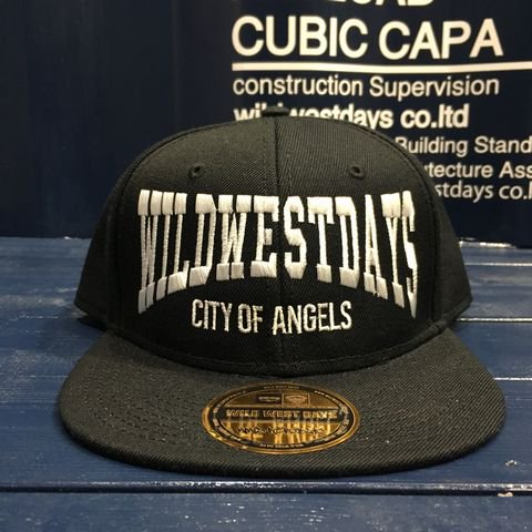 WWD SNAP BACK/CITY OF ANGELES(ブラック/ホワイト)