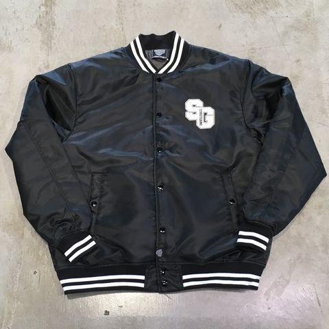 STREETGAMEナイロンジャケット/SG(ブラック/ホワイト)