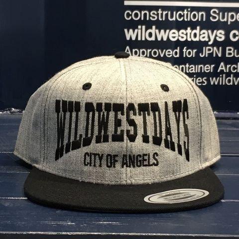 WWD SNAP BACK/CITY OF ANGELES(ヘザーグレー/ブラック)