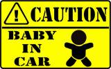 <img class='new_mark_img1' src='https://img.shop-pro.jp/img/new/icons29.gif' style='border:none;display:inline;margin:0px;padding:0px;width:auto;' />BABY IN CARステッカー(CAUTION)