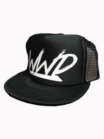 WWDメッシュCAP/WWD(カラー:ブラック/ホワイト)