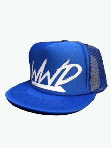 WWDメッシュCAP/WWD(カラー:ブルー/ホワイト)