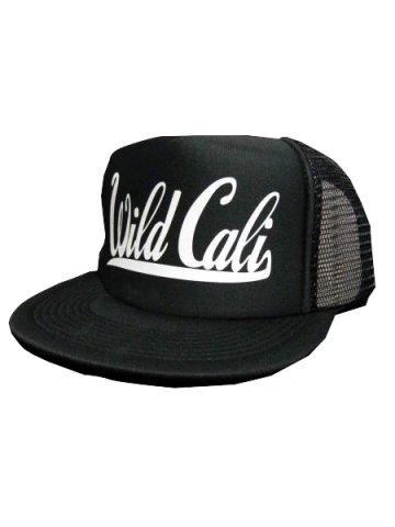 WWDメッシュCAP/WildCali(カラー:ブラック/ホワイト)