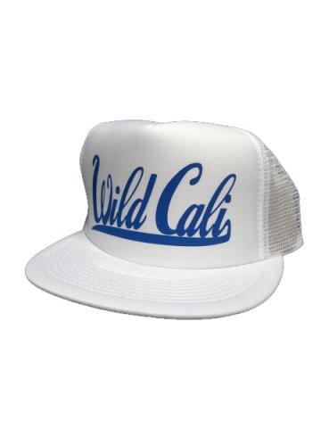 WWDメッシュCAP/WildCali(カラー:ホワイト/ブルー)