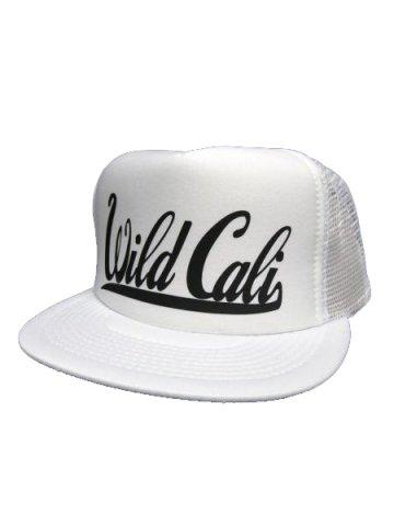 WWDメッシュCAP/WildCali(カラー:ホワイト/ブラック)