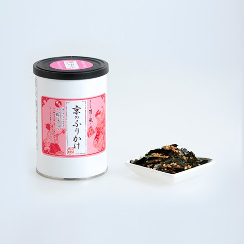 京のふりかけシリーズ(丸缶)<br> 『辛子明太子40g』