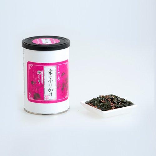 京のふりかけシリーズ(丸缶)<br> 『梅しそ40g』