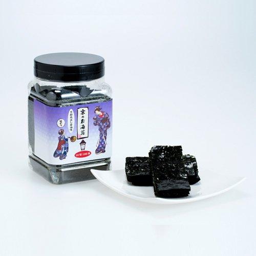 京のお海苔シリーズ<br>『蔵出し醤油の味のり10切100枚(板海苔10枚分)』
