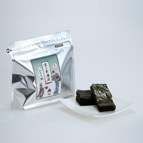 *送料無料*<br>京のお海苔 金さん銀さんシリーズ<br>『あおさ味10切240枚(板のり24枚分)』