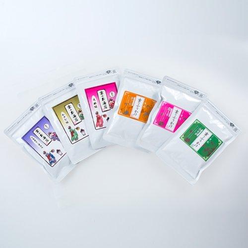 *送料無料*<br>京のふりかけシリーズ<br>『お海苔屋さんの拘りふりかけが6袋選べる』大人気の味くらべセット!