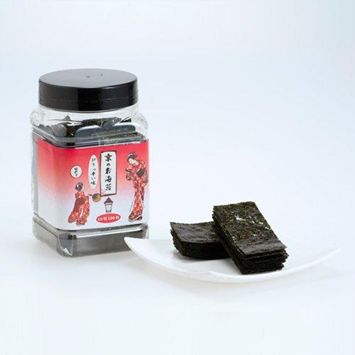 京のお海苔シリーズ<br>『ぴりっ辛い味のり10切100枚(板のり10枚分)』